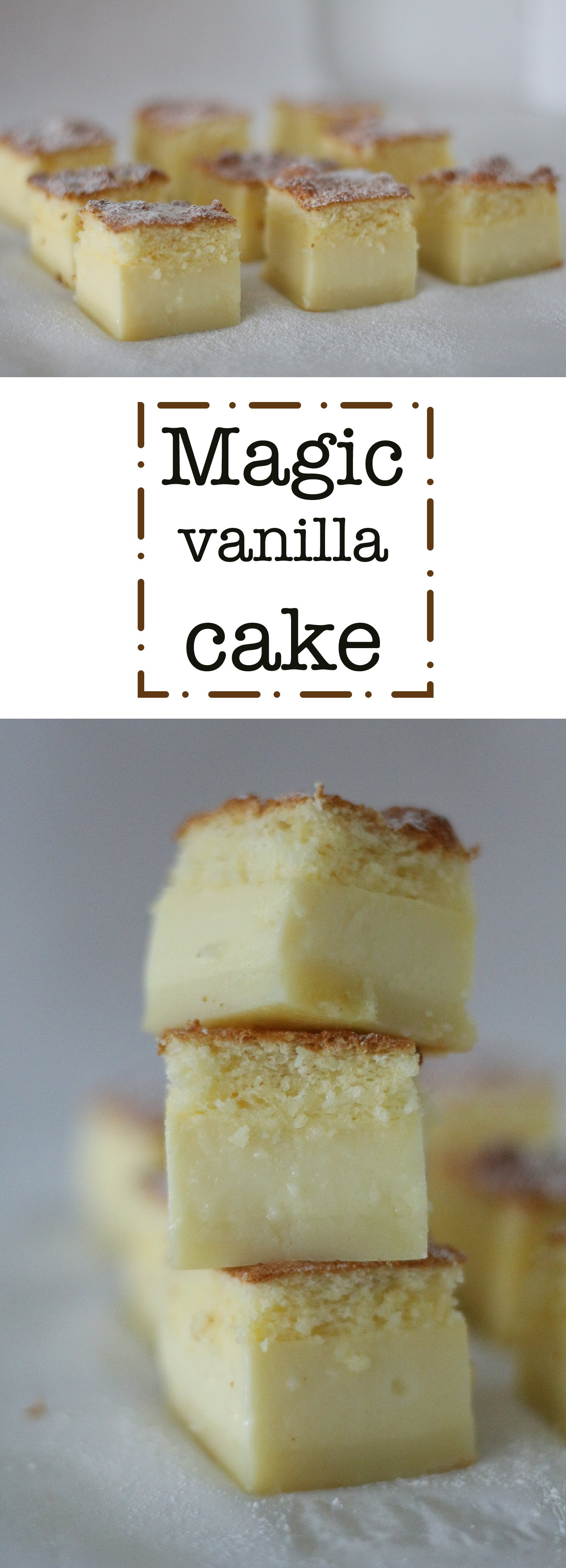 magic vanilla cake pinterest pin