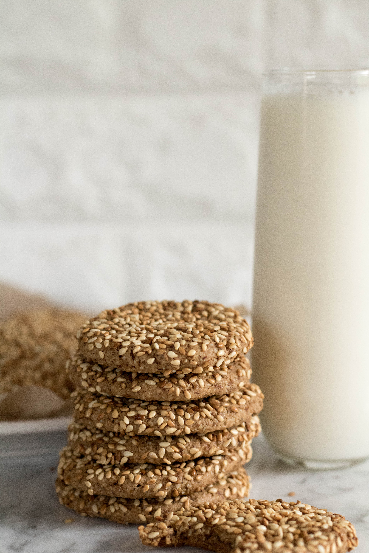 sesame seed tahini cookie