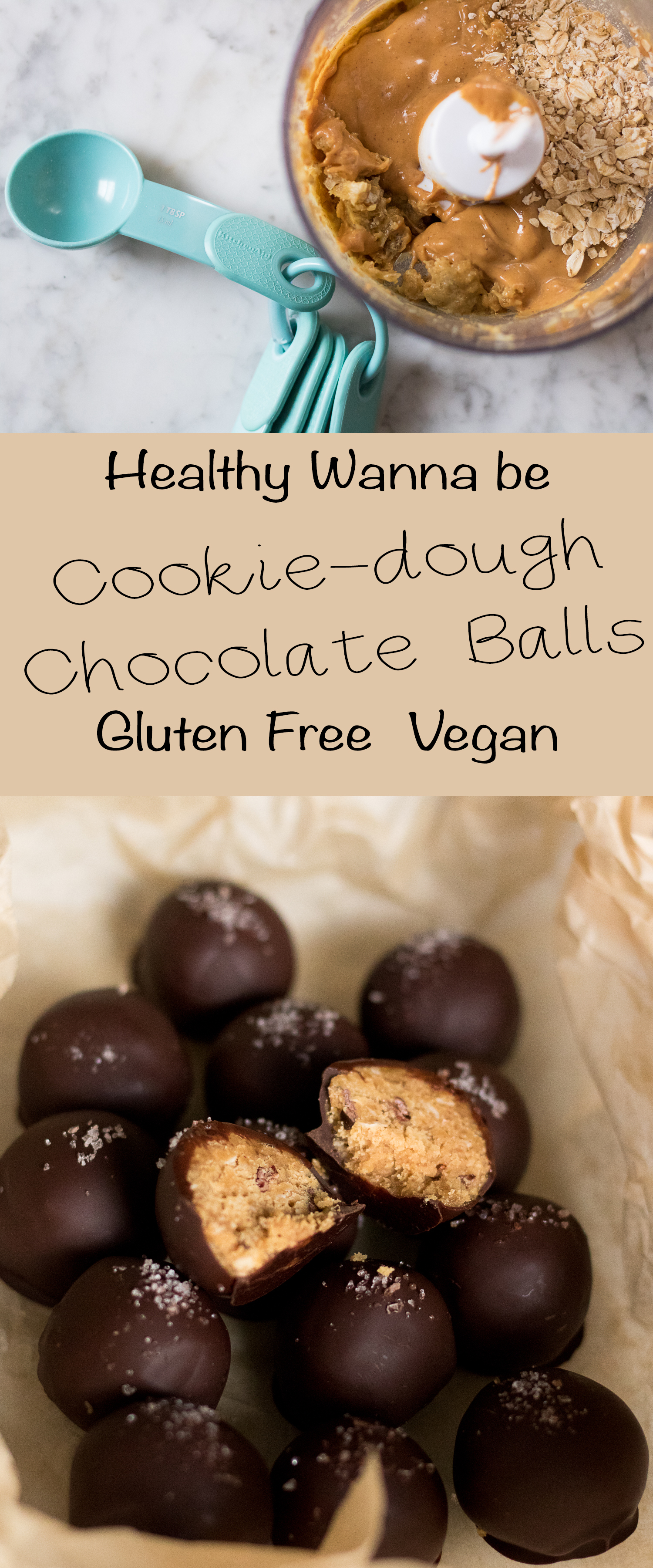Pinterest recipe for cookie dough chocolate balls recipe