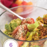 Gut healing meal prep idea