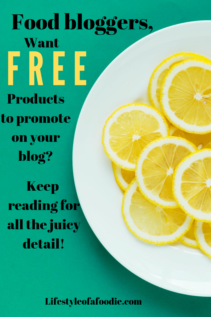 Food bloggers, want free stuff? check out this article PINTEREST