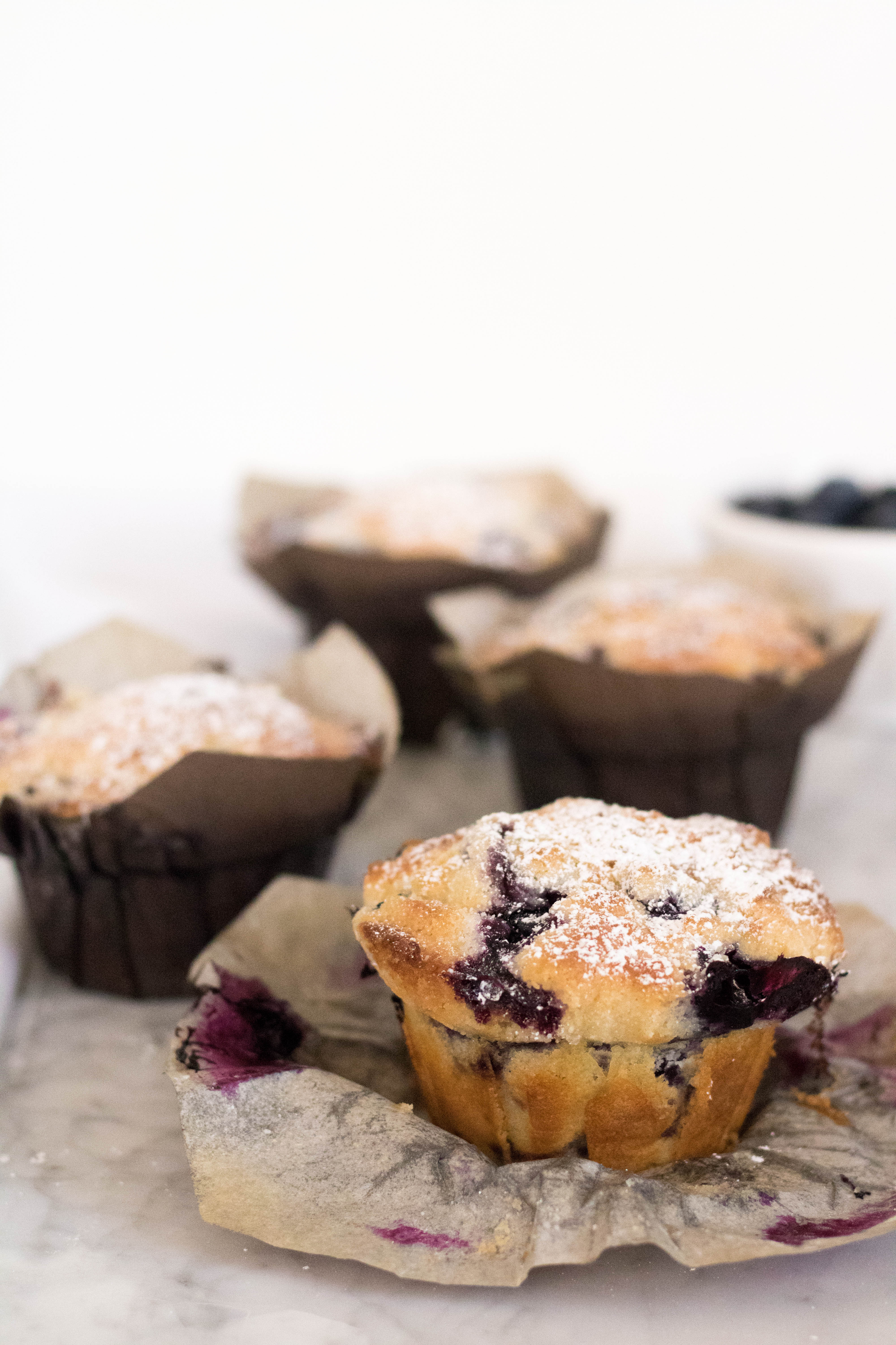 Bakery Style Blueberry Muffin