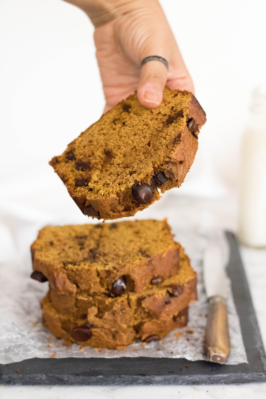Healthy pumpkin bread recipe for stress baking