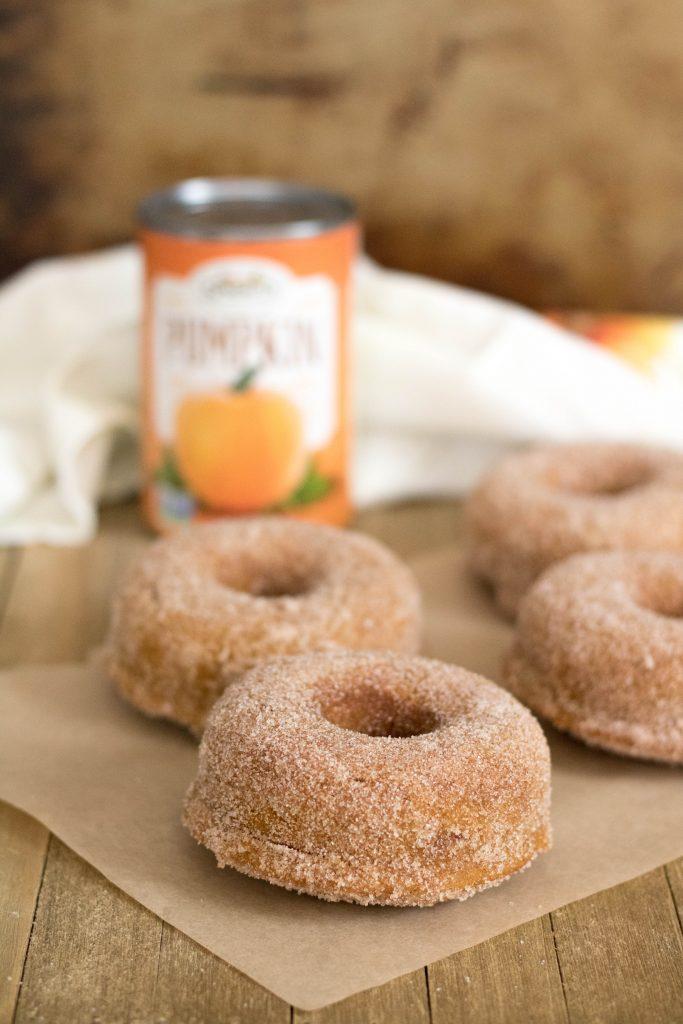 Small batch pumpkin donuts