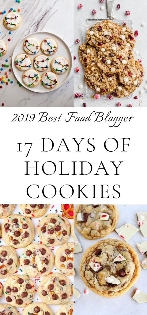 17 days of holiday cookies