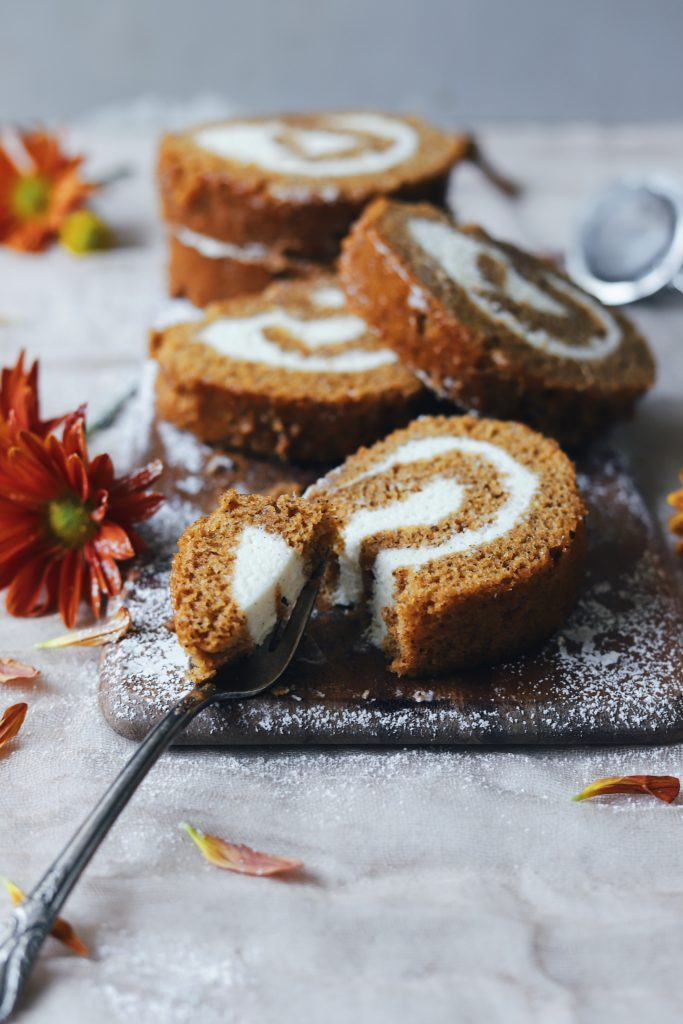 pumpkin cream cheese swirl cake from the buttery whisk for the 24 days of pumpkin recipes collection