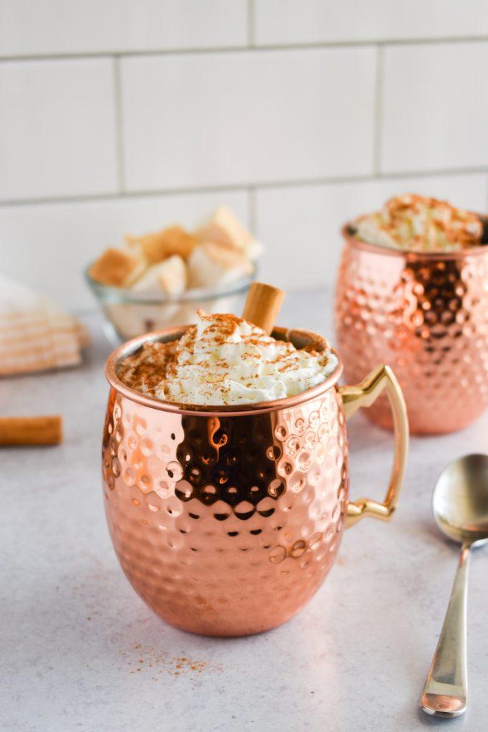 Pumpkin hot chocolate mix recipe for the 24 days of pumpkin recipes