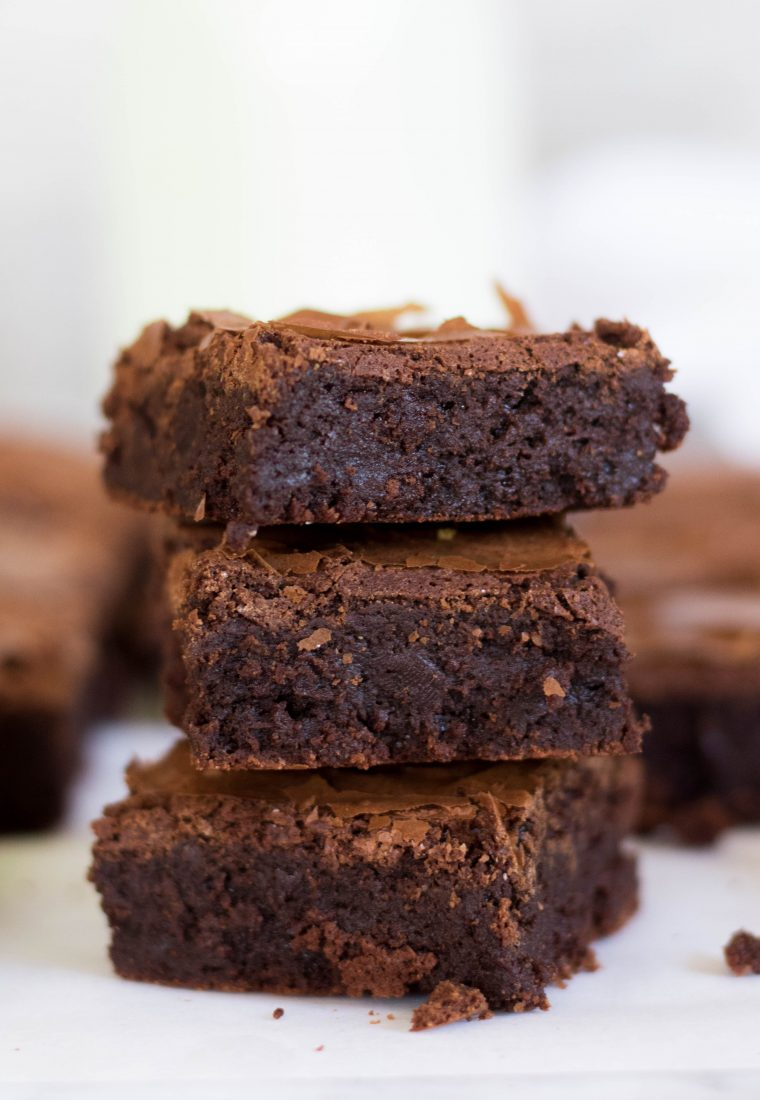 Bakery Style Brownies With no Cocoa Powder + TIPS