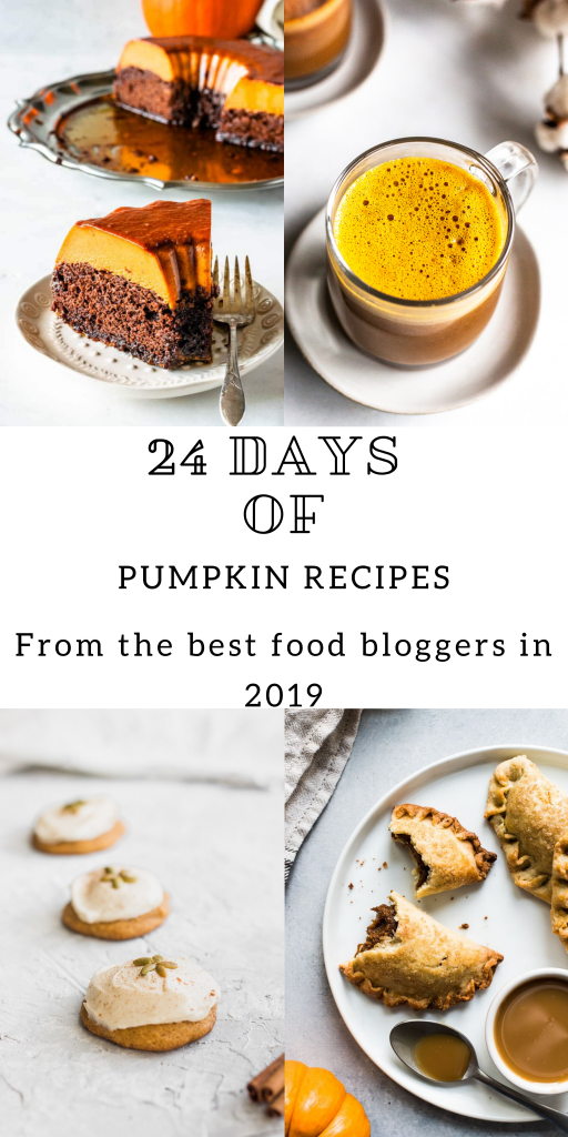 24 days of pumpkin recipes collection collage