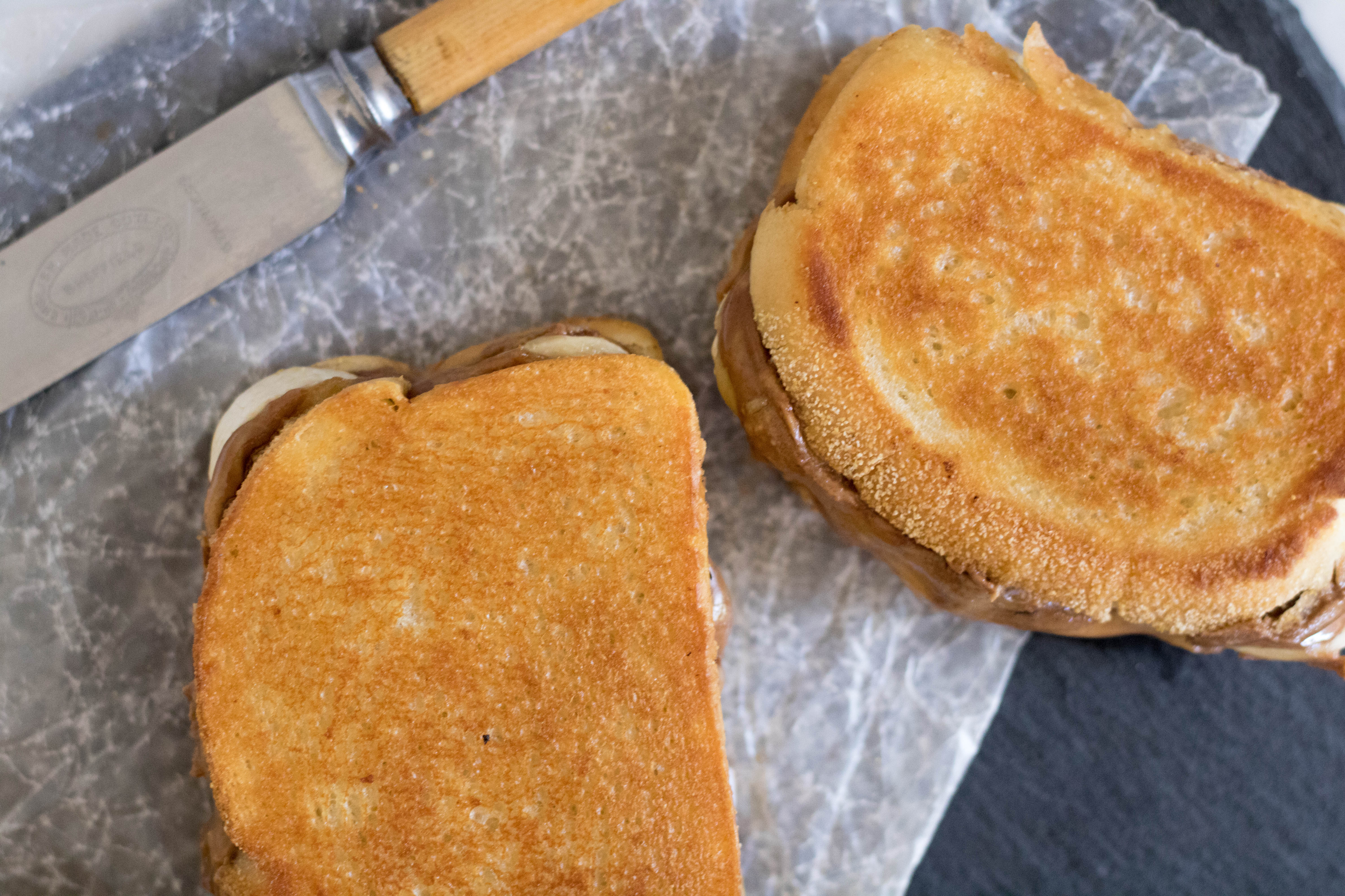 toasted bread for a toasted sandwich