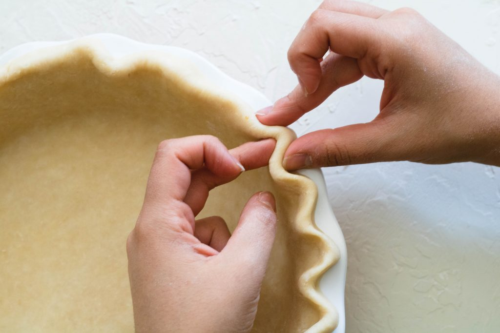 How to flute the perfect pie crust