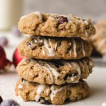 stacked cranberry oatmeal cookies recipe