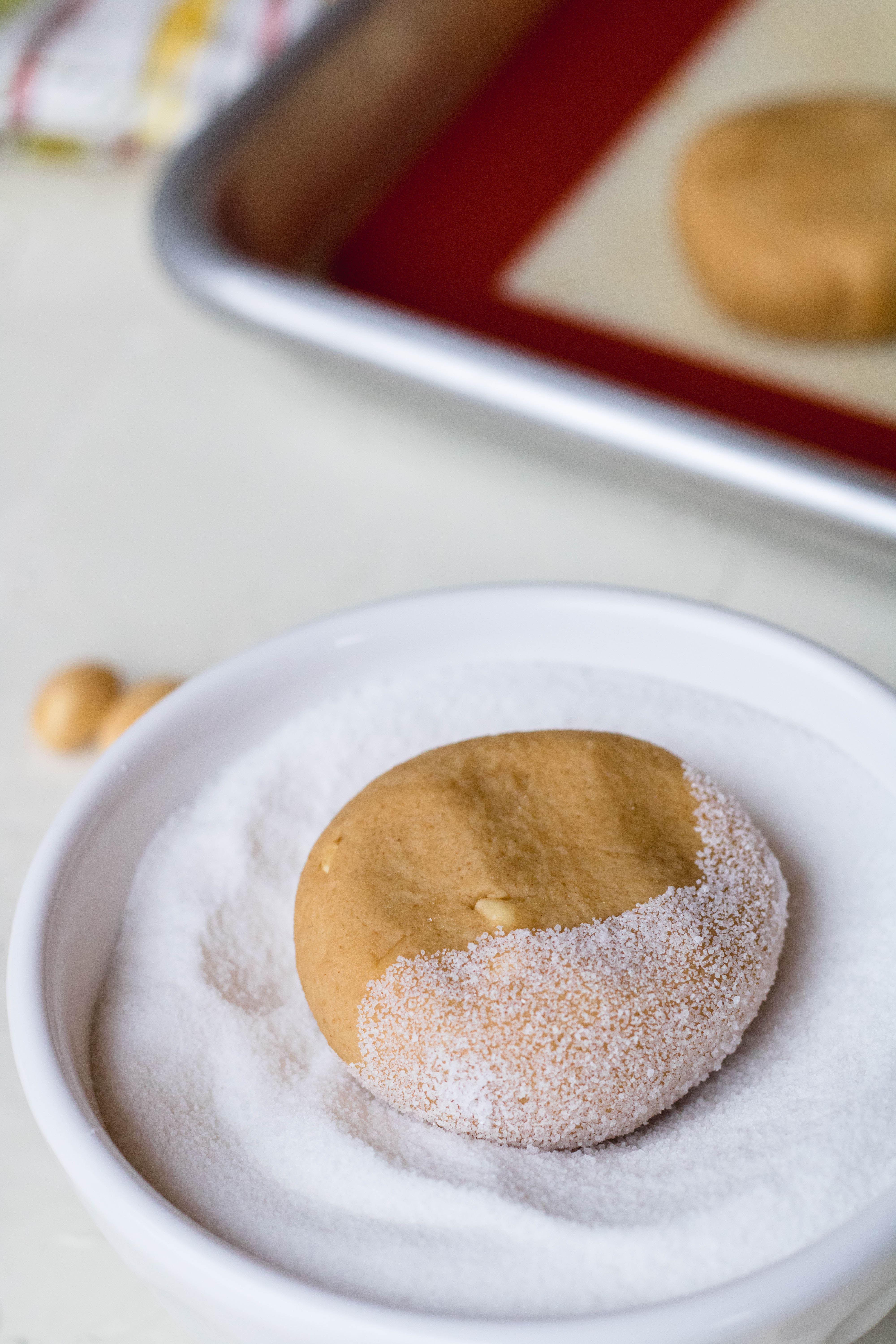 steps on how to make the best small batch peanut butter cookies