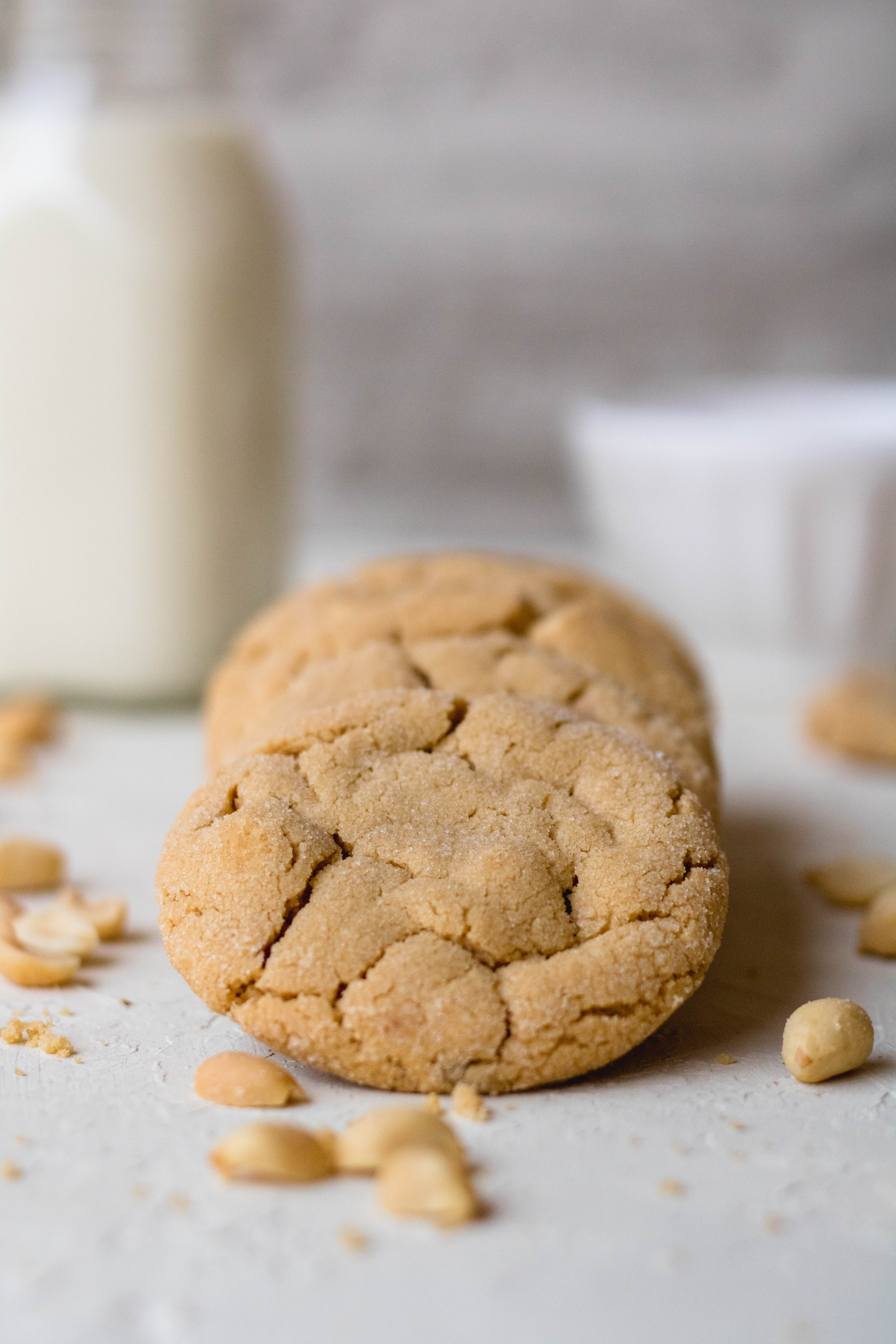 peanut butter cookies for stress baking