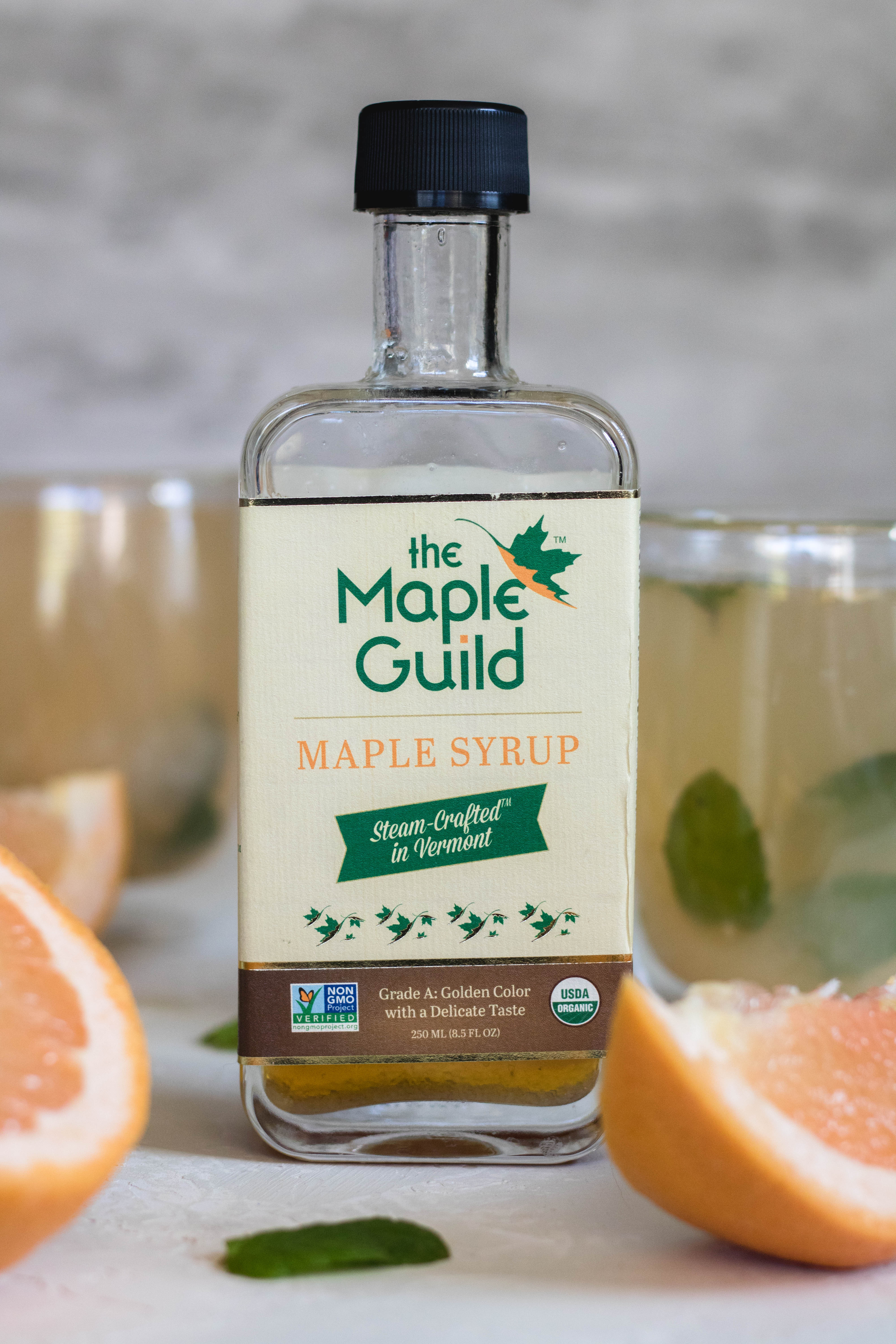 The maple guild maple syrup