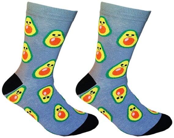 Perfect avocado socks for Christmas stocking stuffers