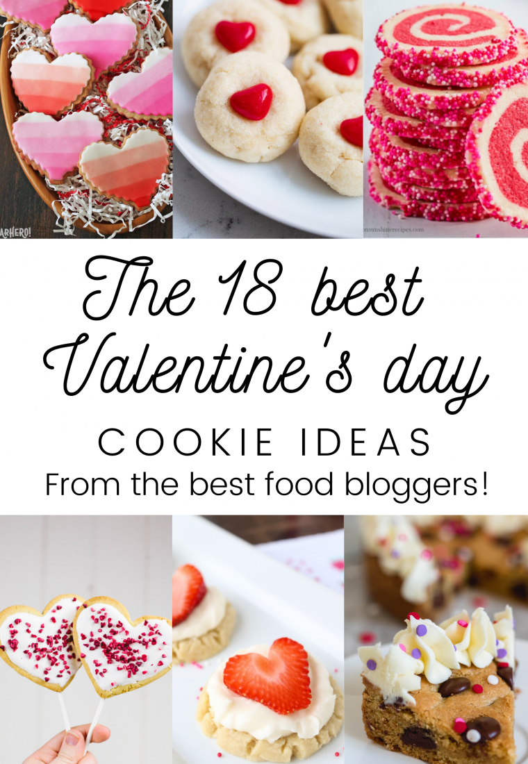 The best 18 Valentine's day cookie ideas