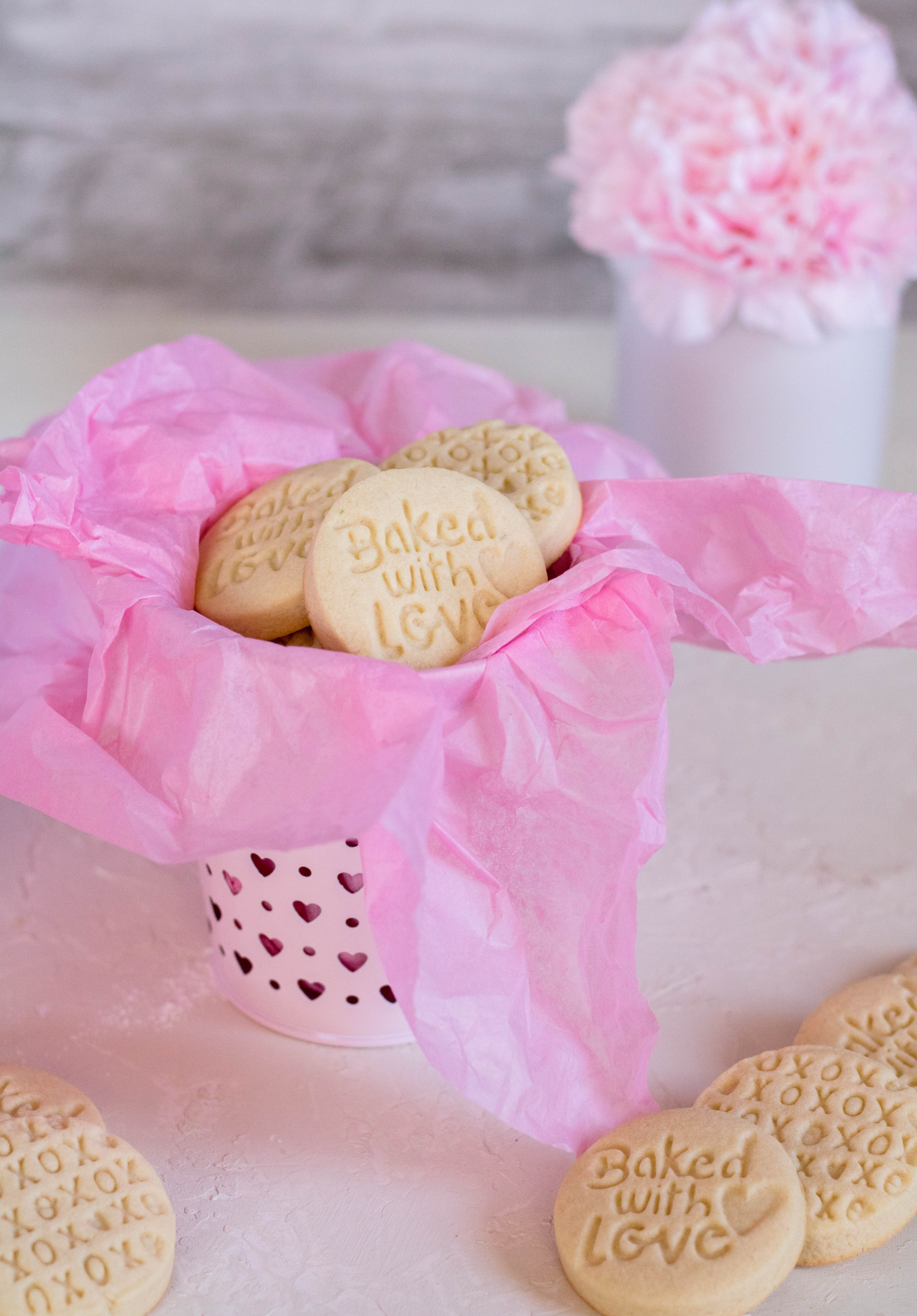 Baked with love cookie shortbread