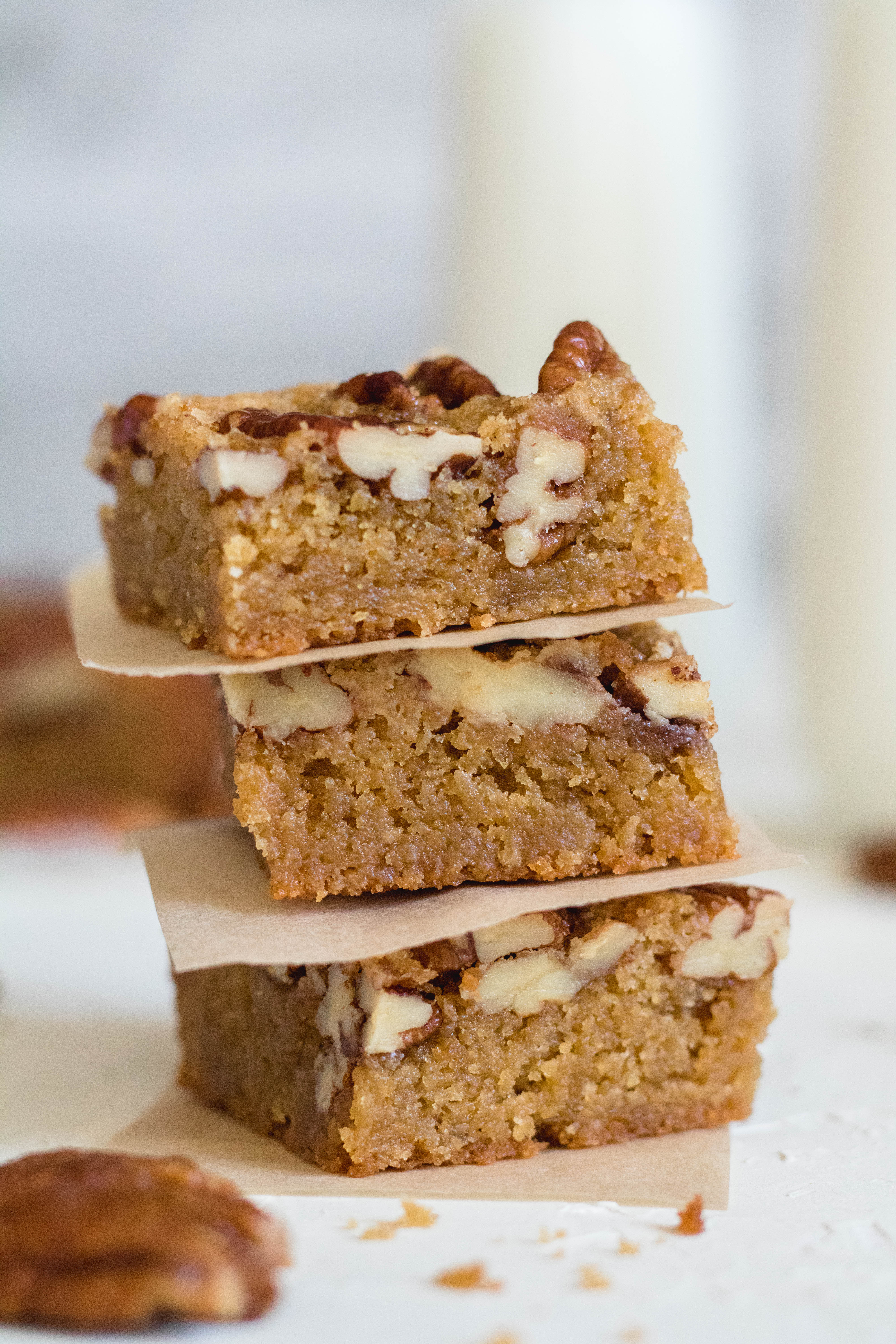 the best brown butter blondies in the world