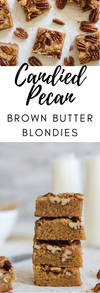 delicious brown butter blondies recipe