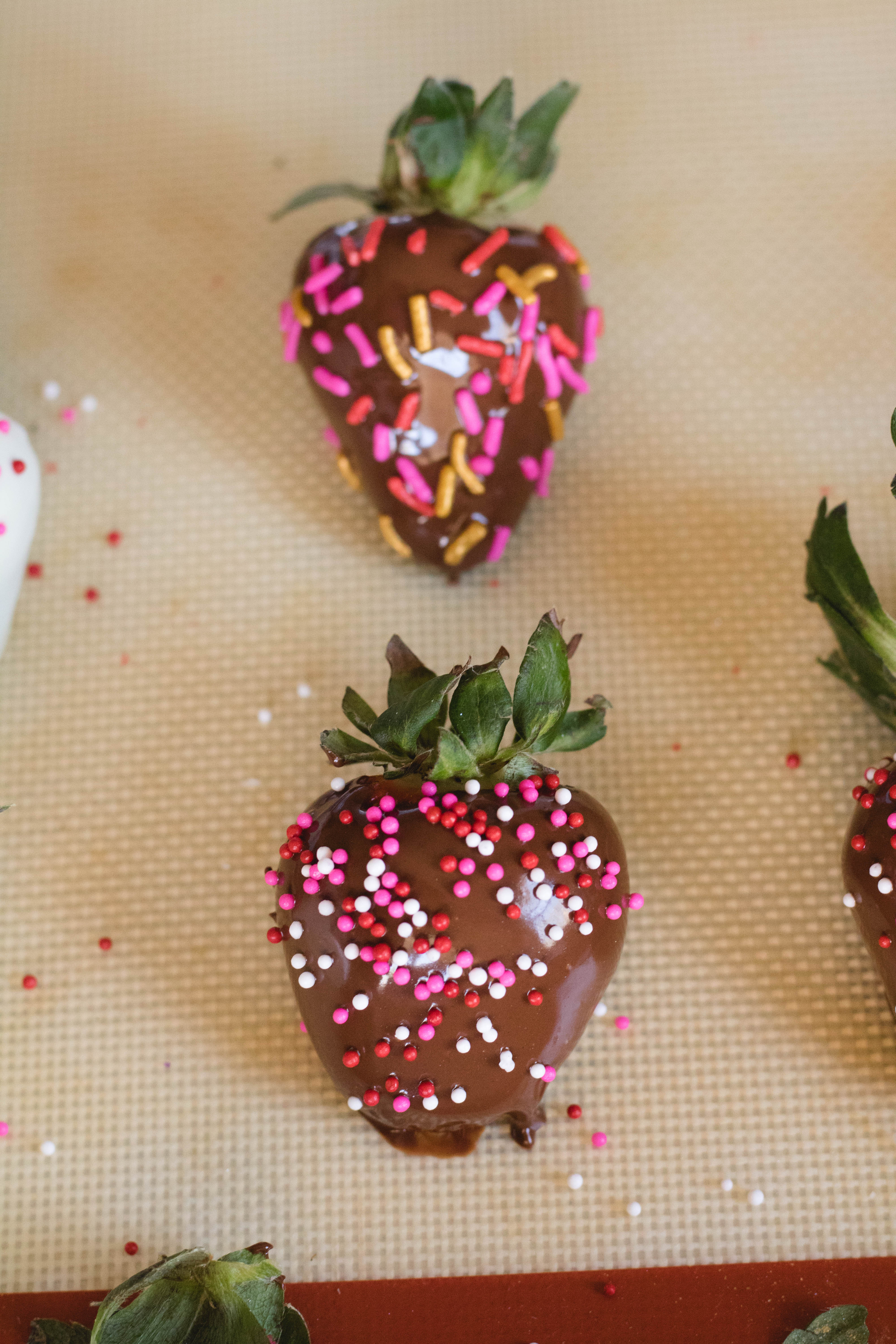 chocolate dipped strawberry recipes