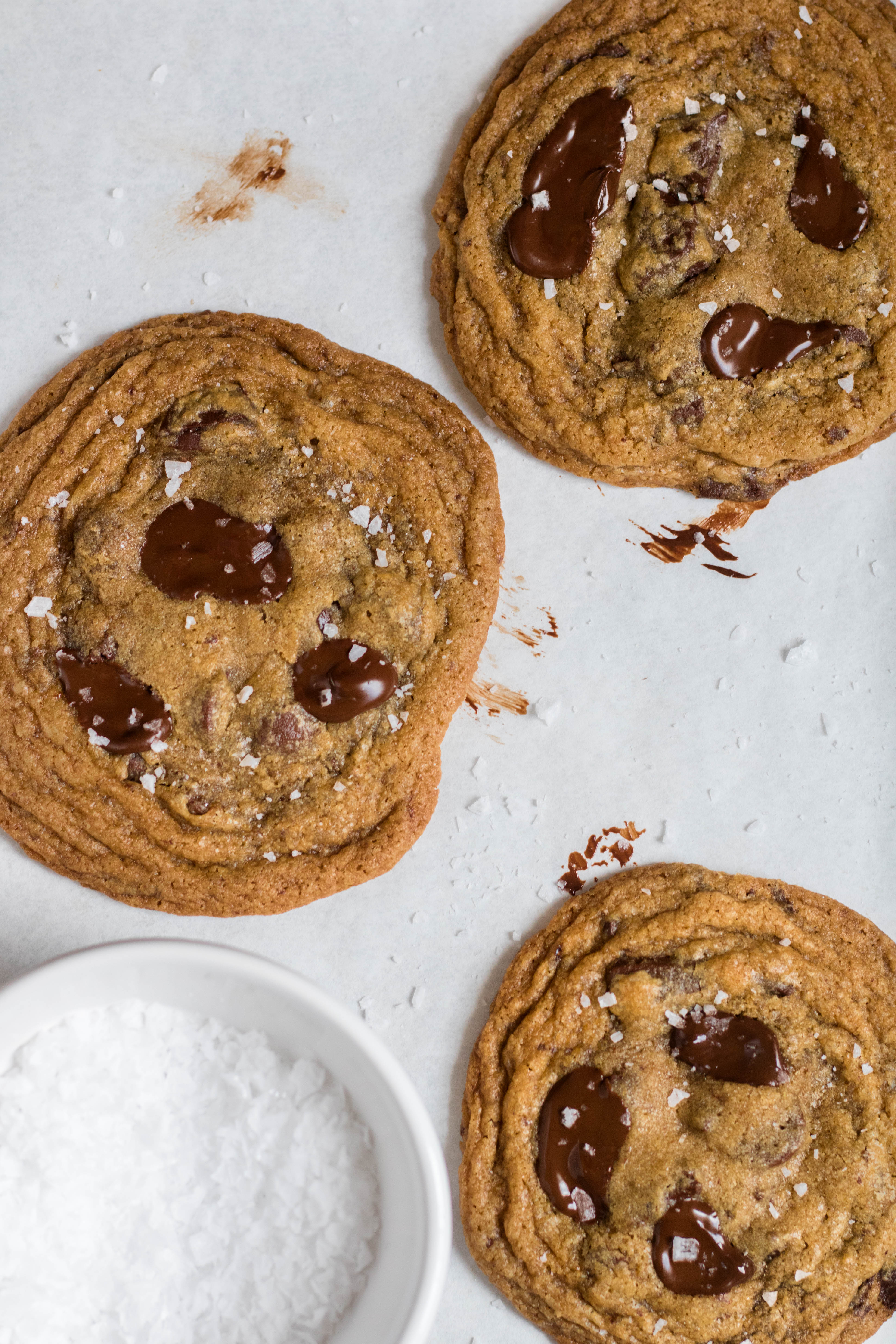 easy homemade chocolate chip cookies