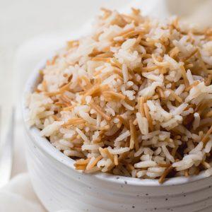 Lebanese stovetop rice