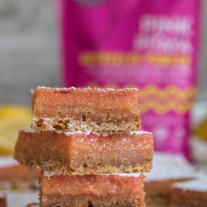 The best pink lemon bars
