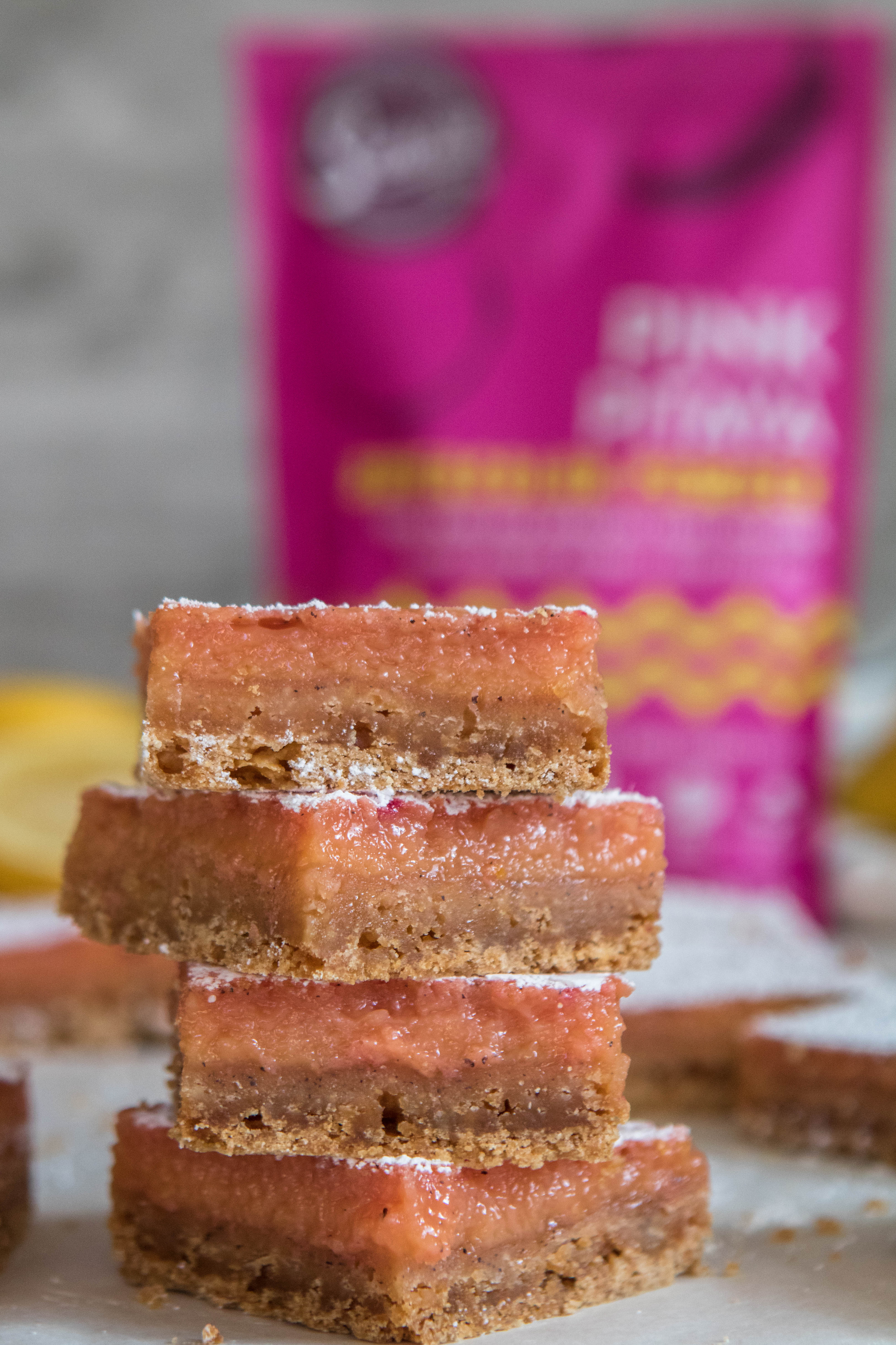 The best pink lemon bars