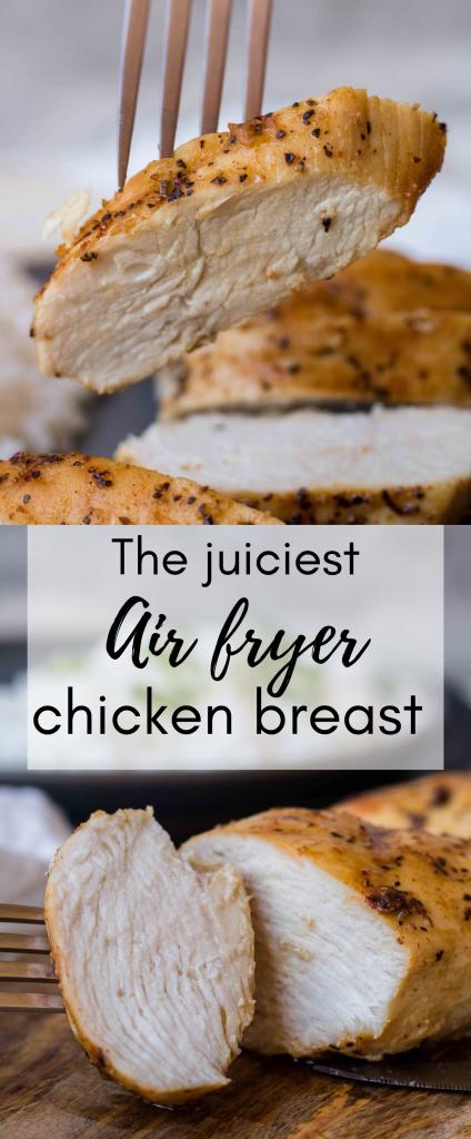 Air fryer fried chicken breast