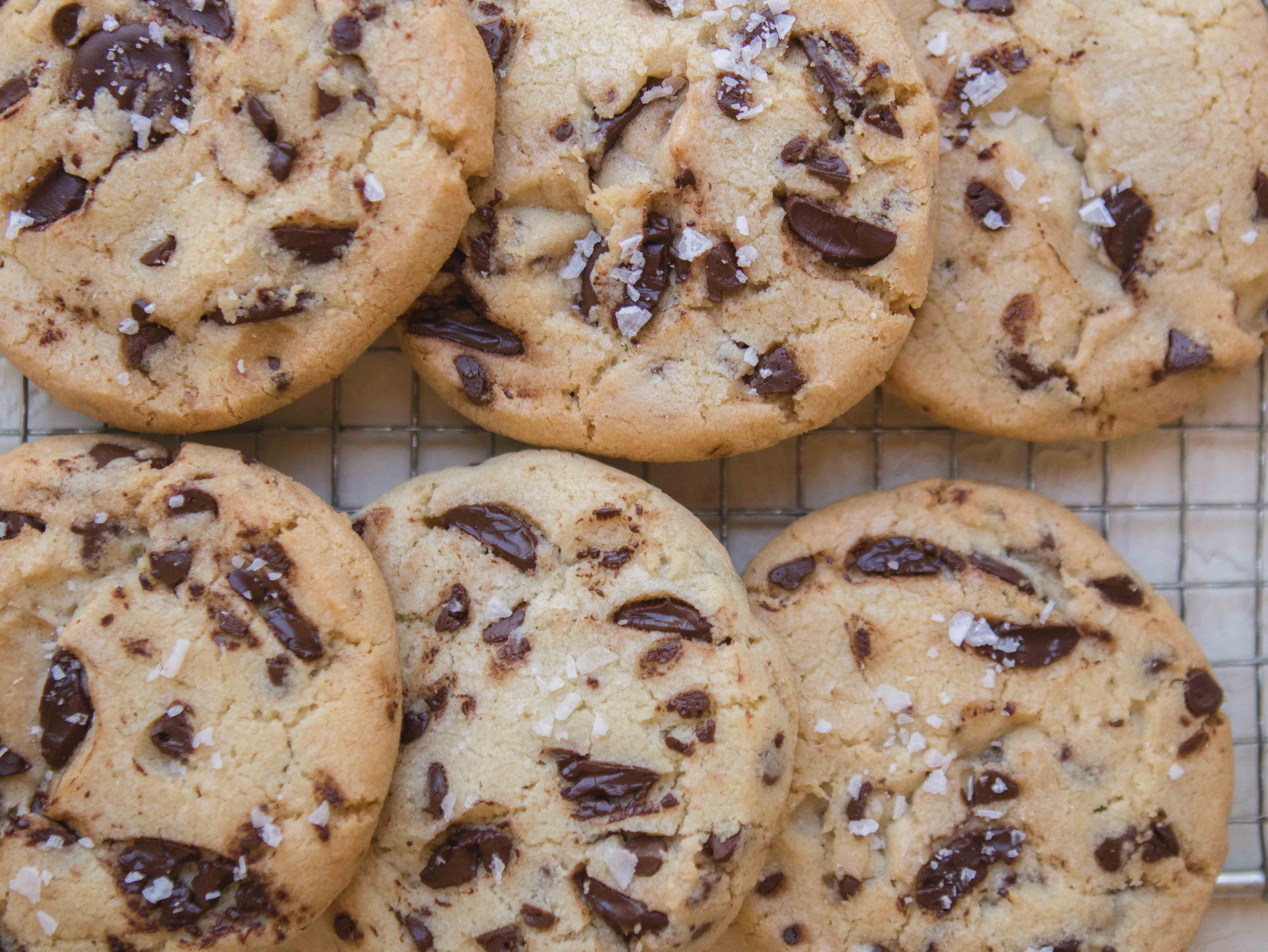 crispy chocolate chip cookies without brown sugar