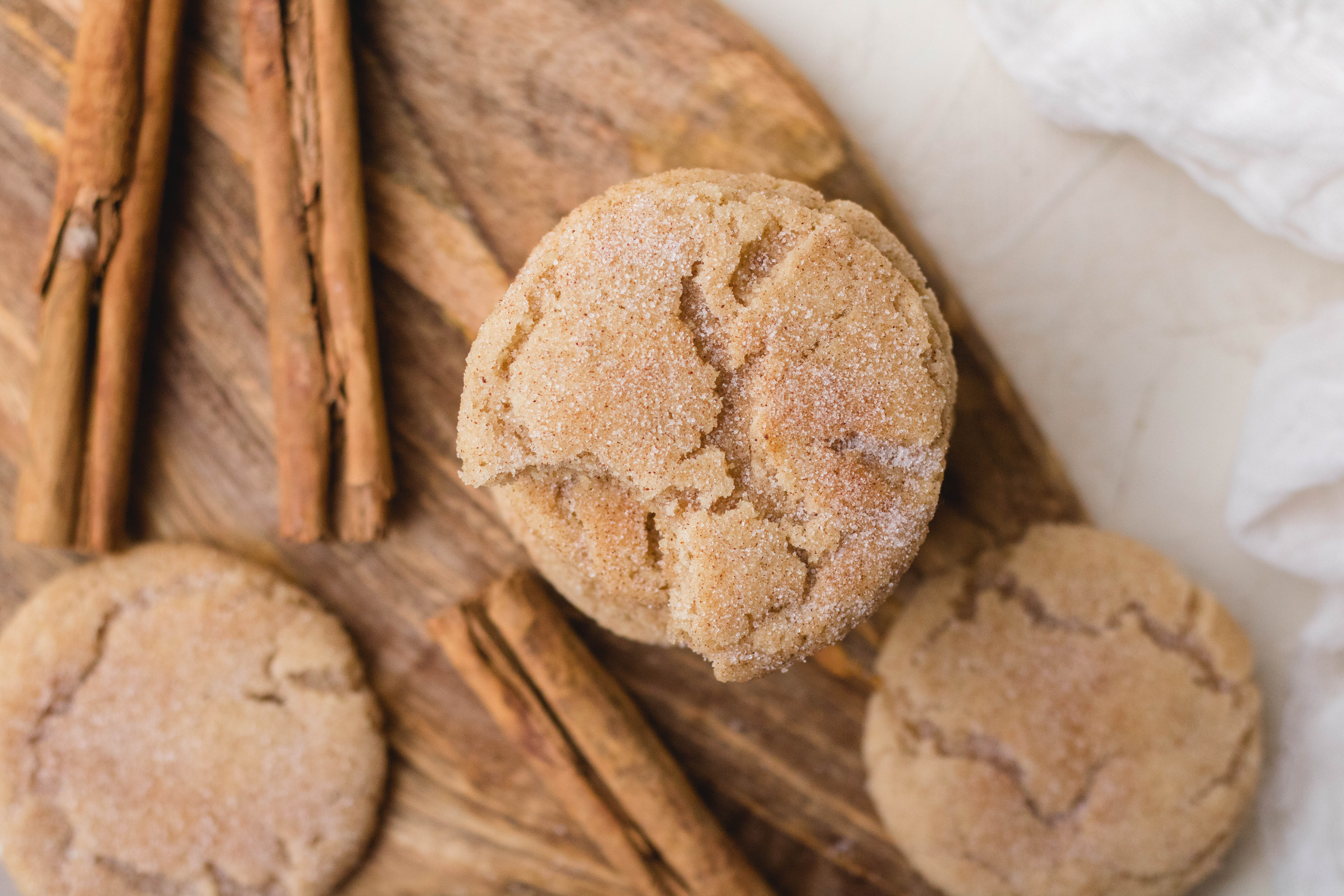 The best small batch snickerdoodles