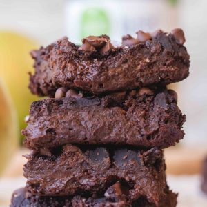 The healthiest vegan black bean brownies