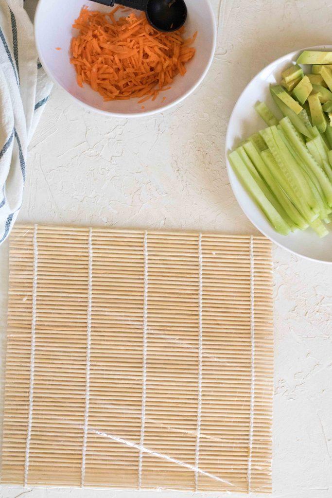 How to make quinoa sushi