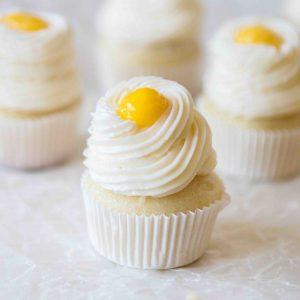 Perfect mini lemon cupcakes