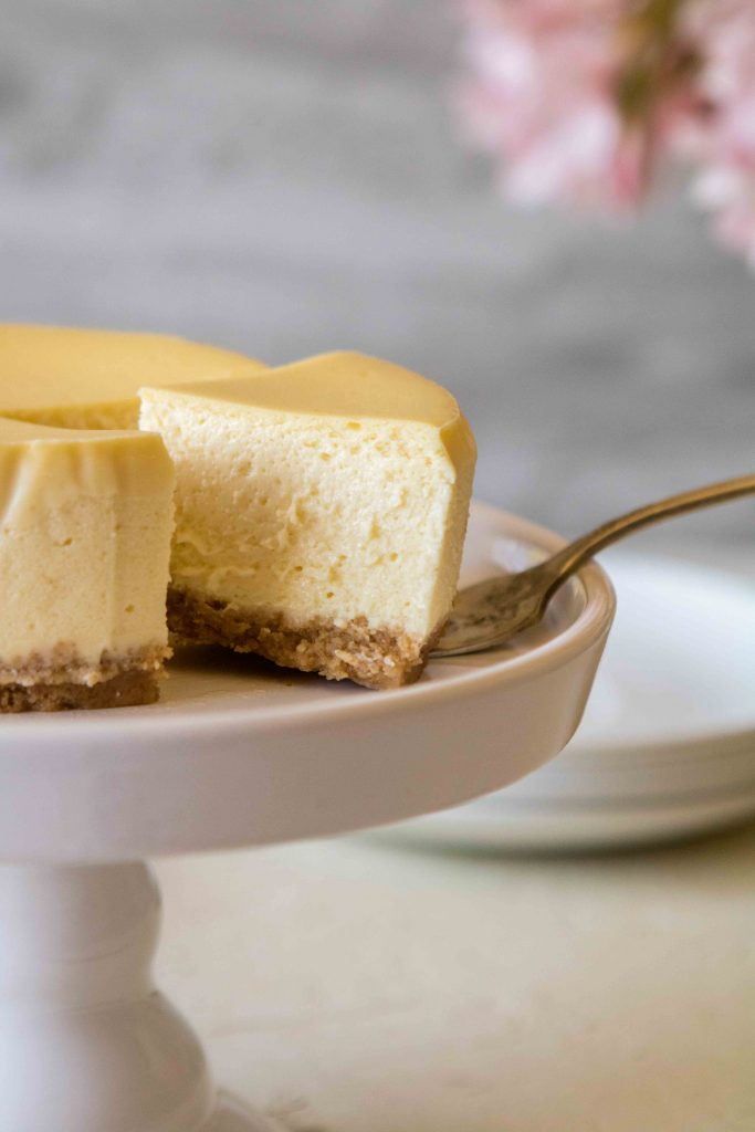 silky mini cheesecake recipe for one