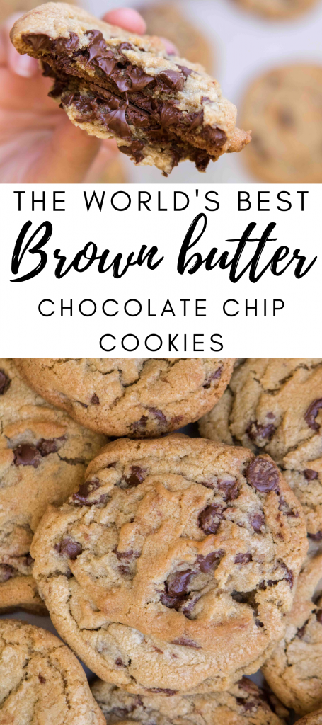 The world's brown butter  chocolate chip cookies