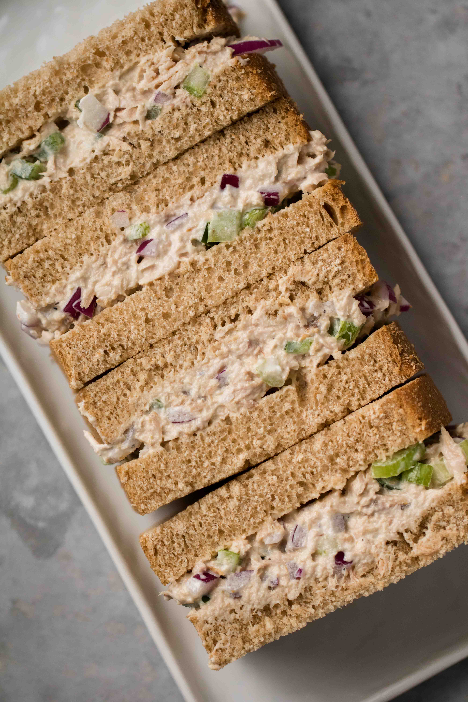 5 minute tuna sandwich