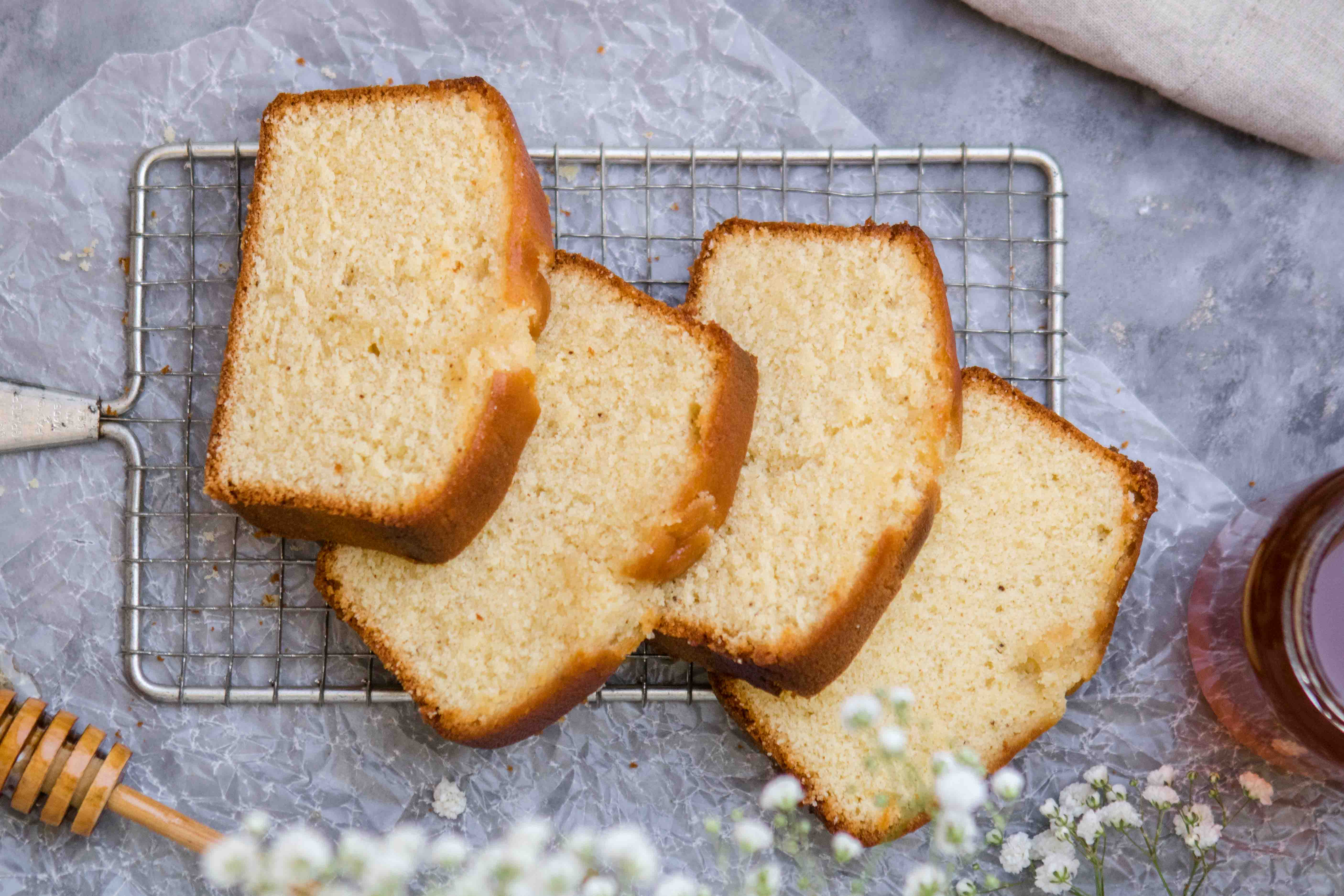 Easy delicious honey tea cake loaf