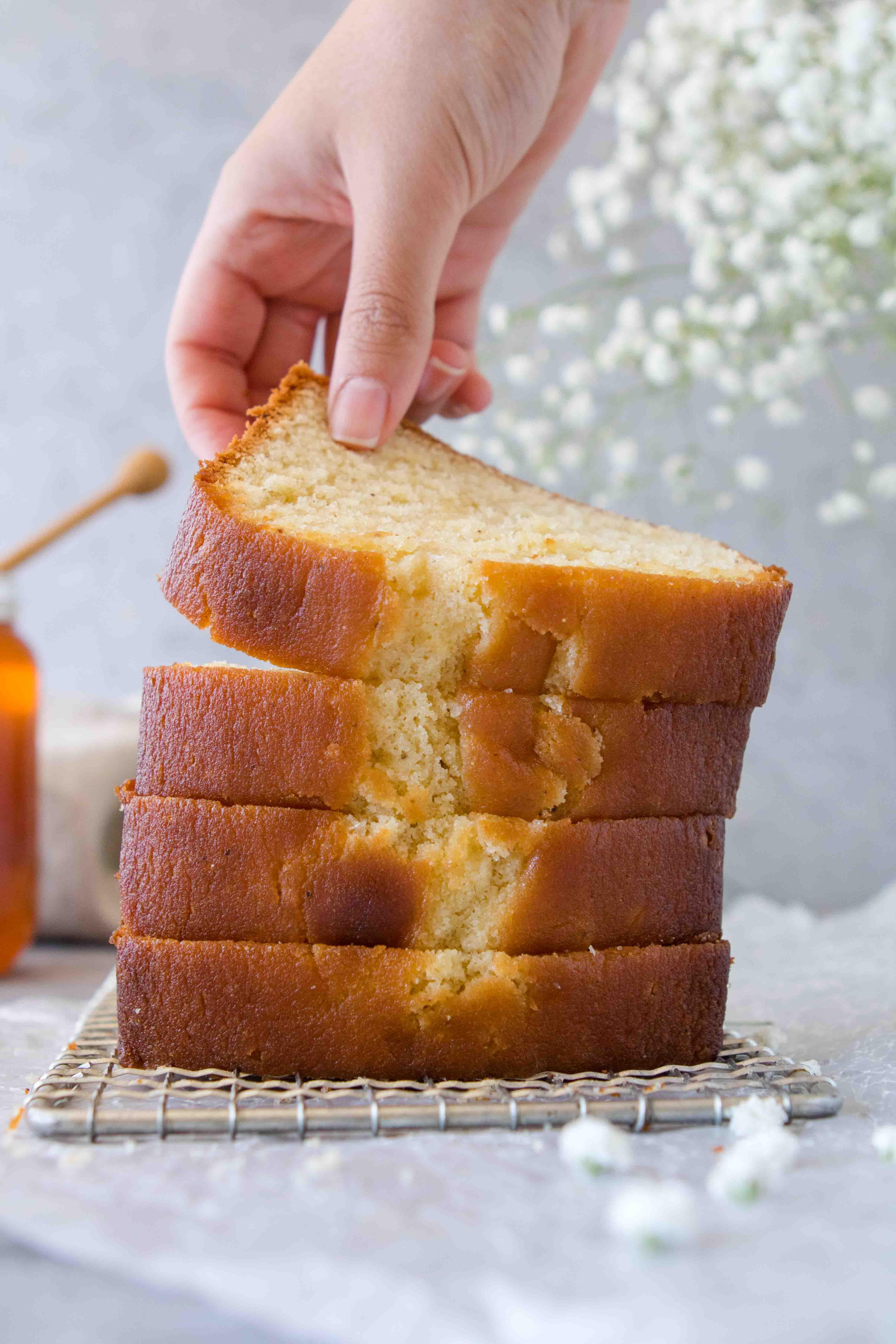 Moist Honey Tea Cake Loaf Just Like Grandma S Lifestyle Of A Foodie