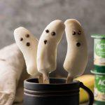 Boonanas - A Frozen Banana Ghost Halloween treat