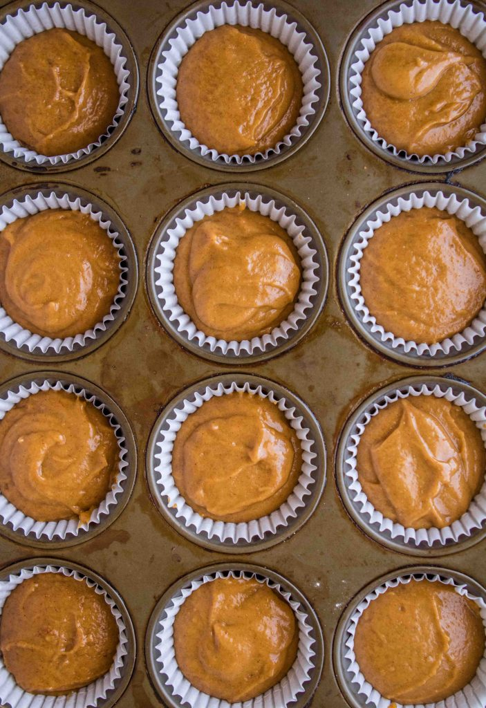 How to make bakery style pumpkin muffin
