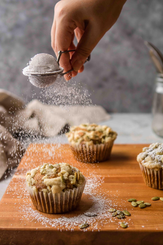 streusel for pumpkin muffins