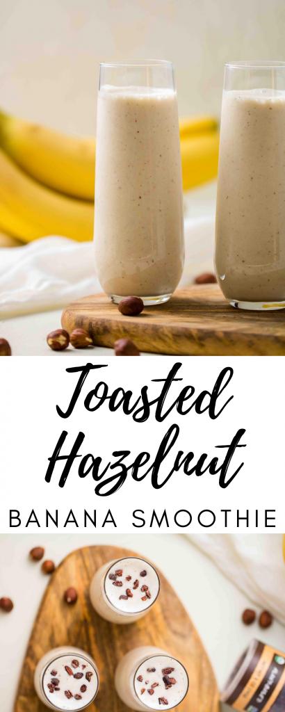 Toasted hazelnut smoothie recipe