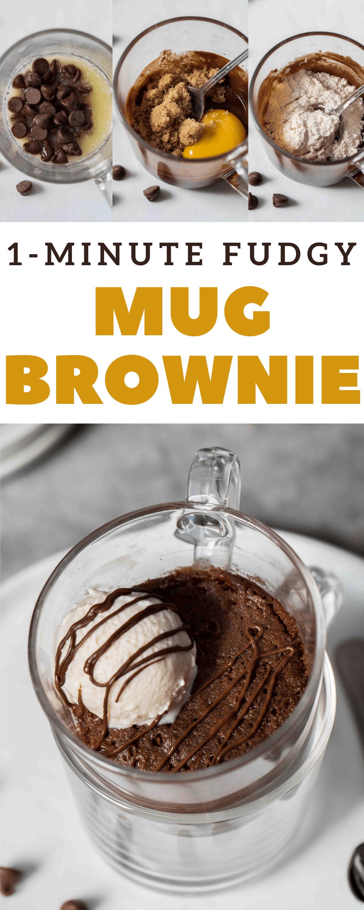 The Best Fudgy 1 Minute Brownie Mug Cake Lifestyle Of A Foodie