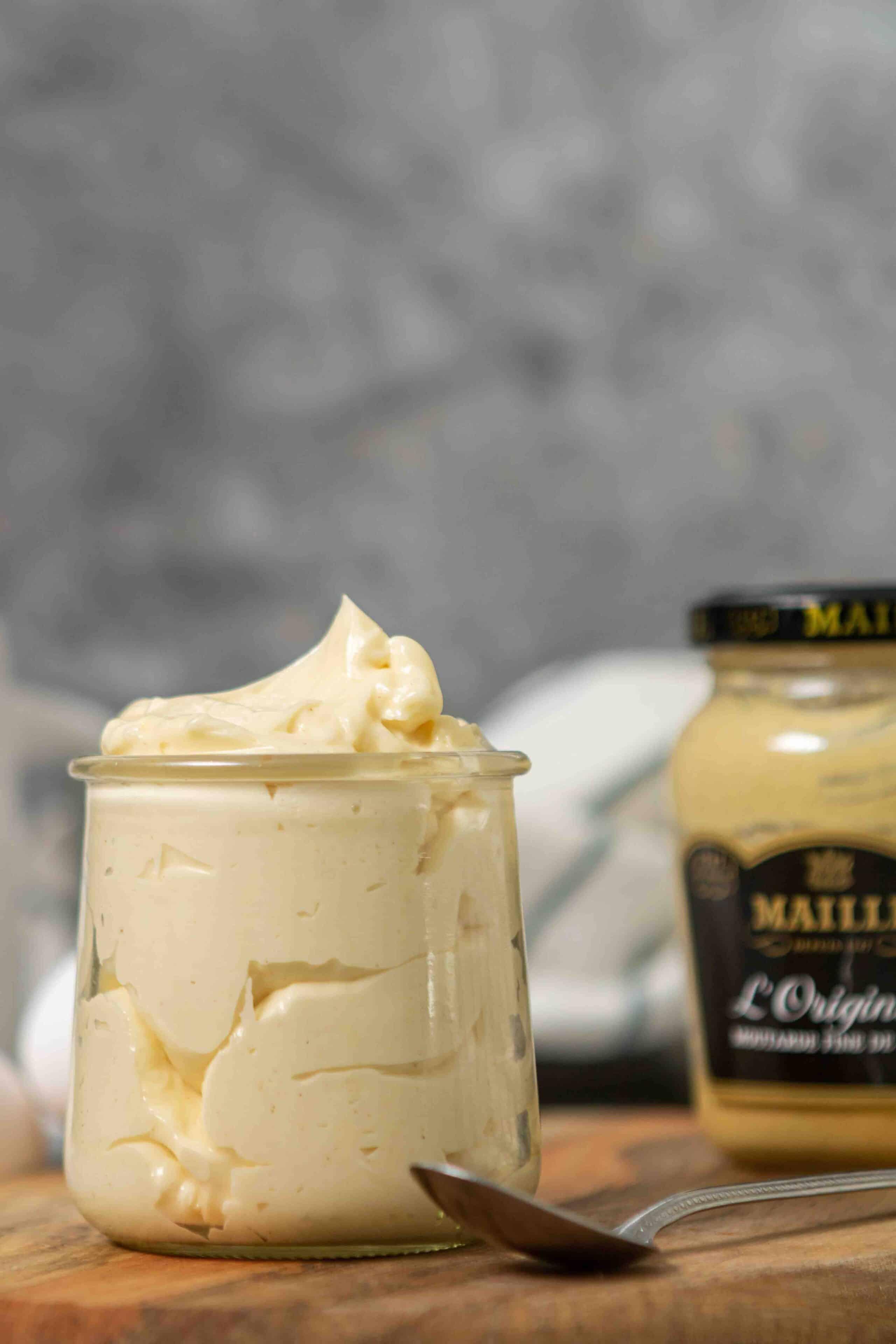 the easiest homemade mayo