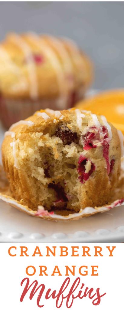 Moist cranberry orange muffins