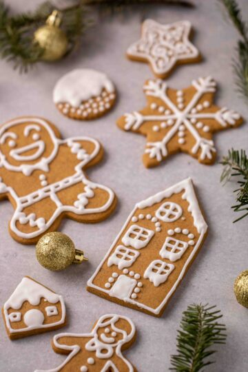 Easy cutout gingerbread cookie recipe