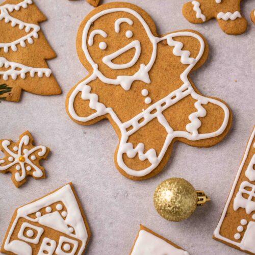 No spread gingerbread cookies