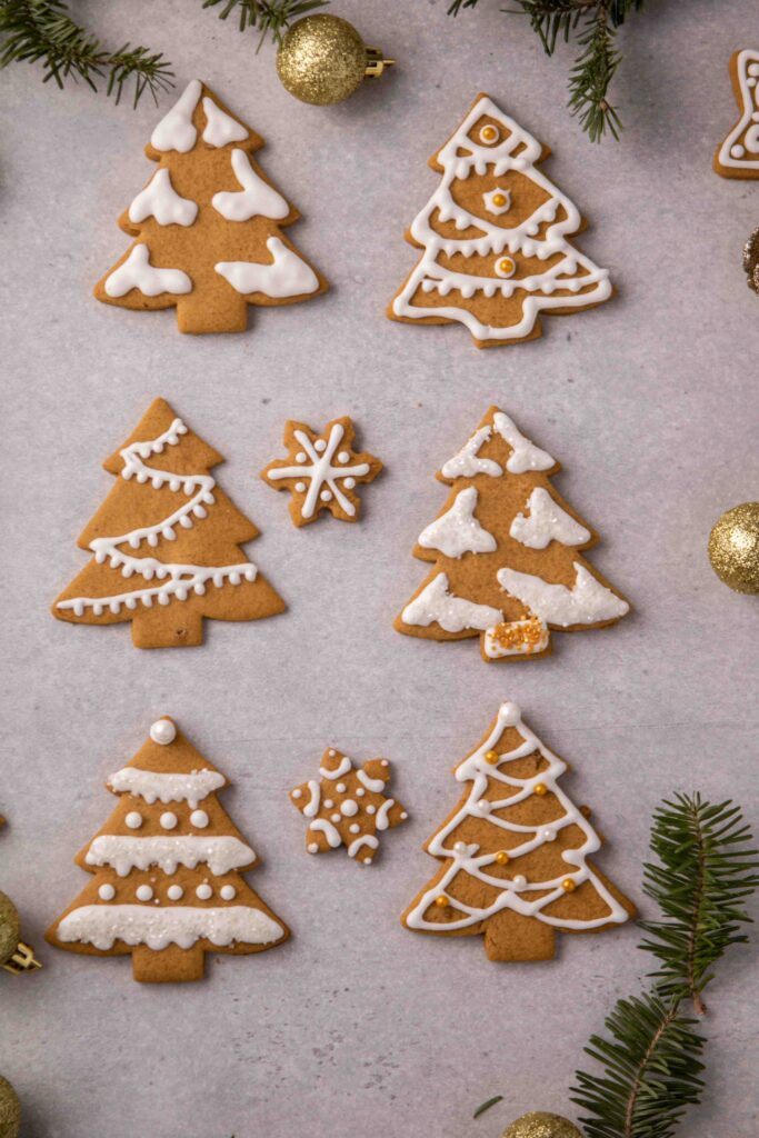 Christmas tree cookie decoration ideas